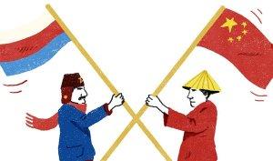 china russia image