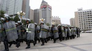 paracops in Urumqi