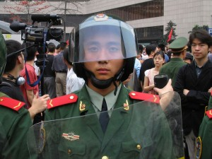10 year old Chinese cop