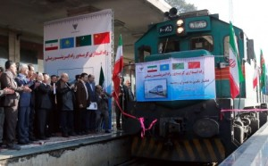 China Tehran train