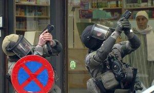 cops in Molenbeek