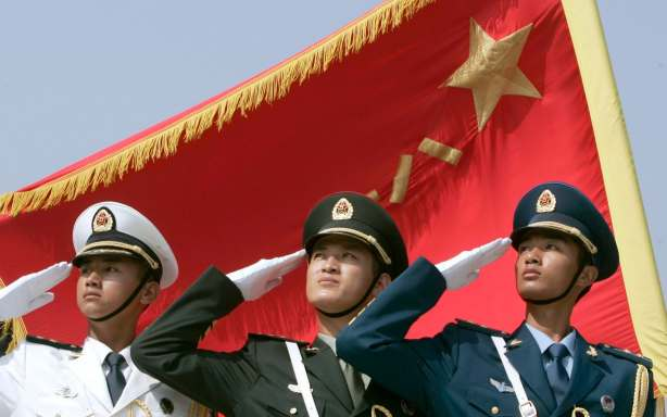 Chinese soliders